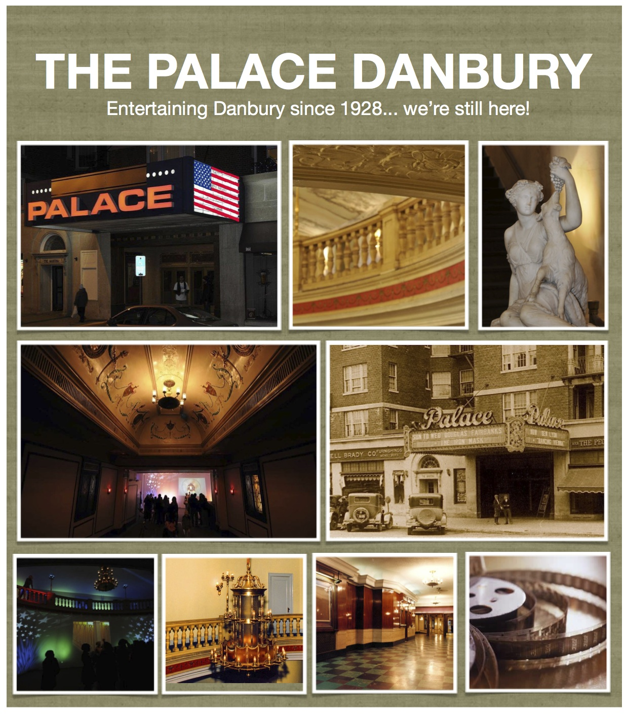Palace collage the palace danbury for The danbury